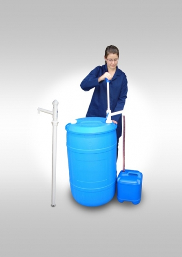 Acid transfer hand pump